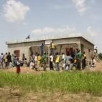 Bau einer Krankenstation
