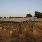 Bau von Solaranlagen