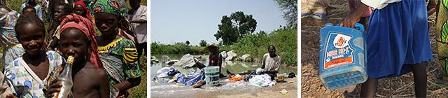 Zugang zu sauberem Trinkwasser
