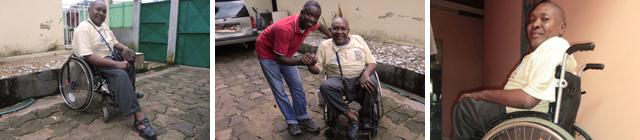 avec un don d une chaise roulante il gagne sa vie ainsi que celle de sa famille e v. Black Bedroom Furniture Sets. Home Design Ideas