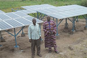 Solaranlage in Kamerun - Afrika