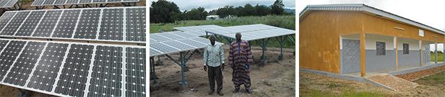 Solarenergie für Kamerun in Afrika