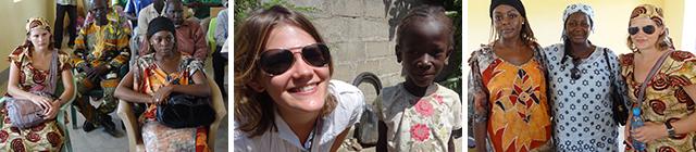 Stefanie Kerner für ident.africa in Kamerun