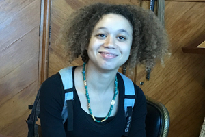 Wendy Bochard, Erasmus-Studentin an der RWTH Aachen